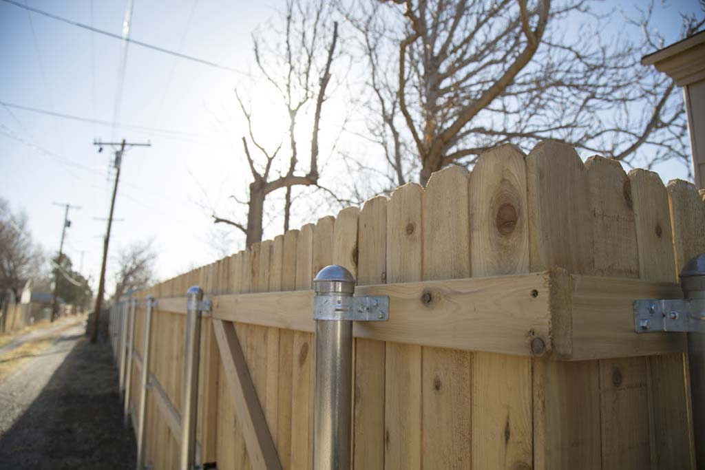 Dogear fence by Noble Fence