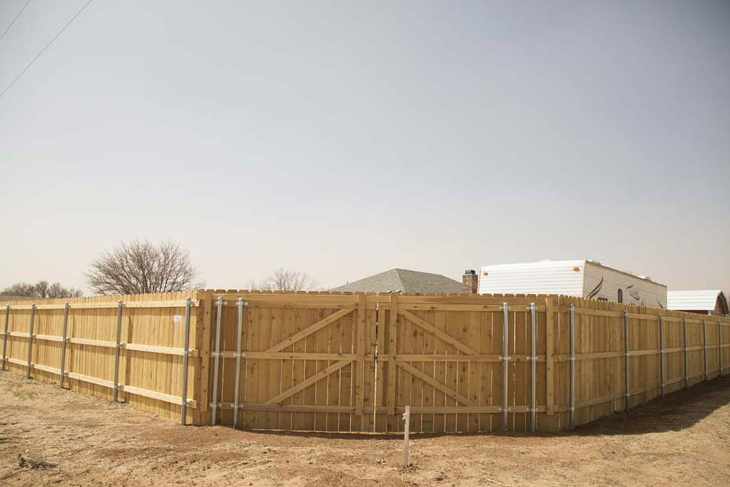 Residential fences for the South Plains of Texas